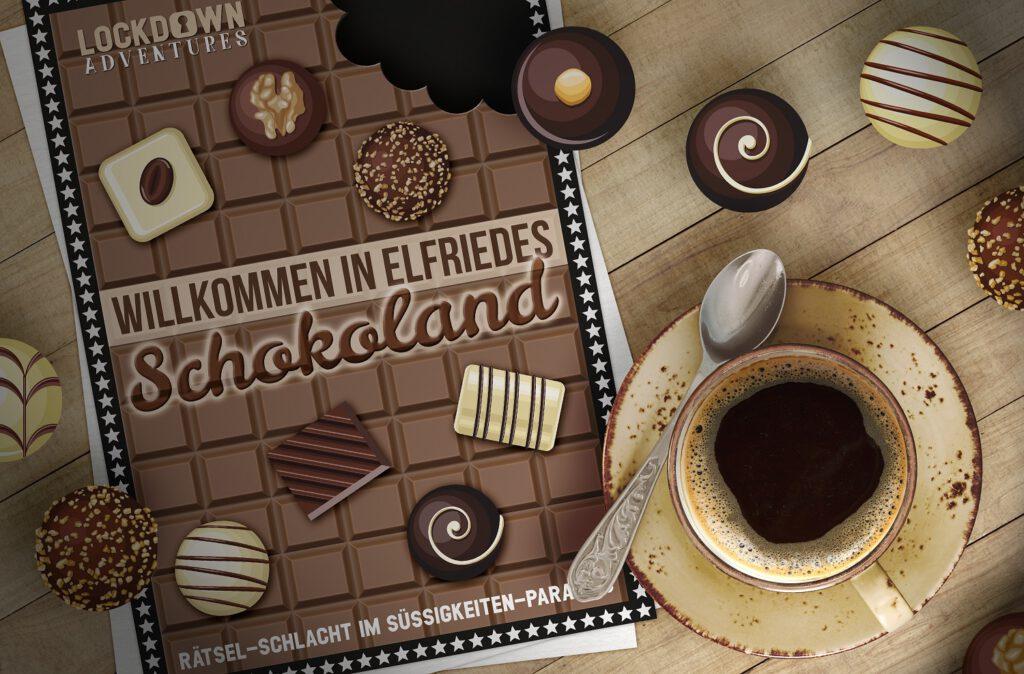 escape rätsel elfriedes schokoland escaperoom rätsel-spiel rätselspiel