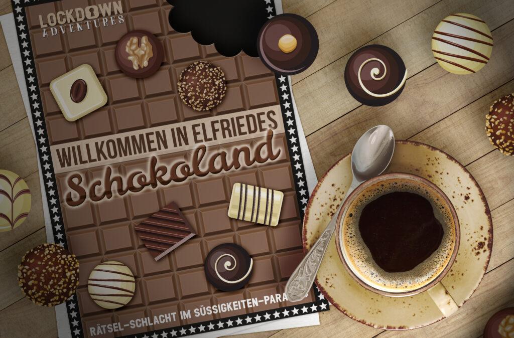 escape schokolade game spiel escaperoom rätsel mission